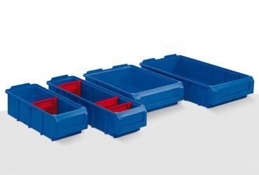 Caixas-gavetas para estantes