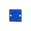 Conector de uniăo V-Max azul